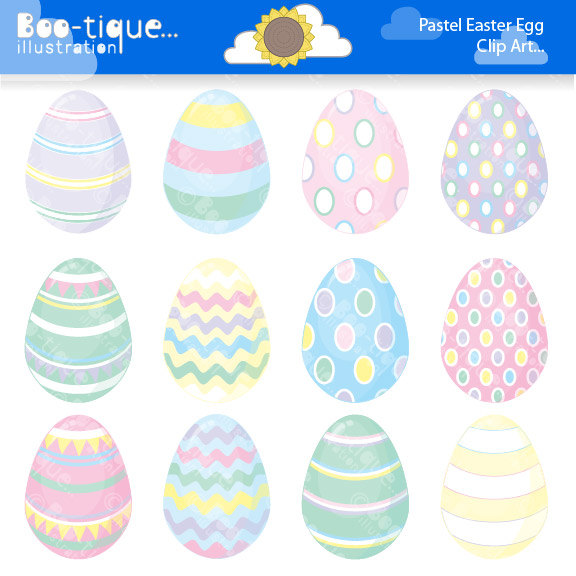 Pastel easter egg clipart png library stock November   2015   Boo-tique Illustration Clipart png library stock