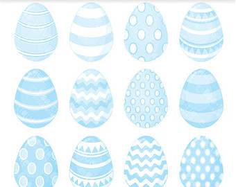 Pastel easter eggs clipart vector free stock Easter Eggs Clipart. Easter Clip Art for Instant Download. vector free stock