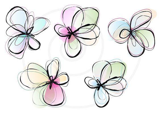 Pastel flower clipart jpg free Pastel flowers clipart - ClipartFest jpg free