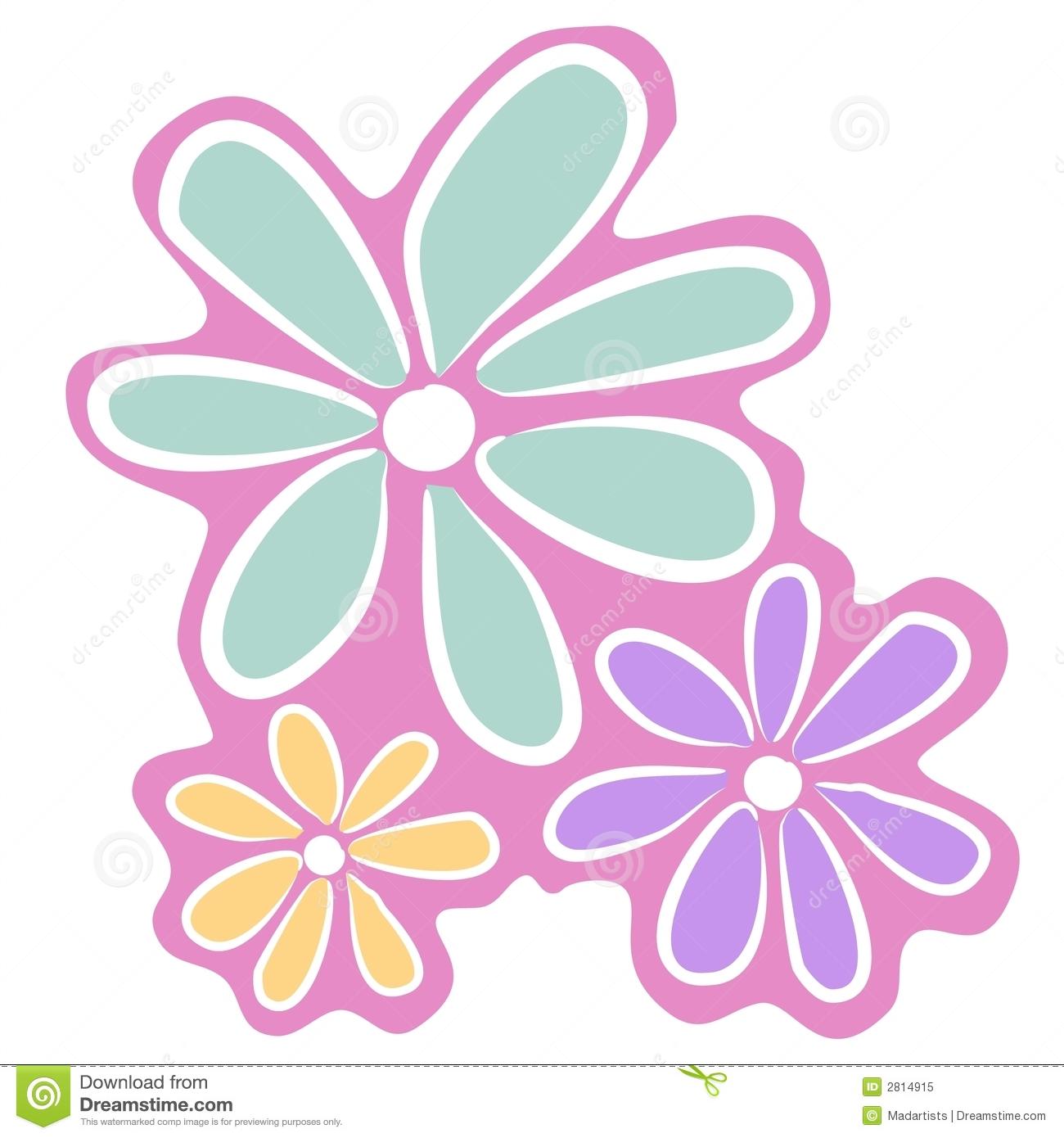 Pastel flower clipart vector transparent stock Purple Flowers Clip Art Stock Photos, Images, & Pictures - 1,195 ... vector transparent stock