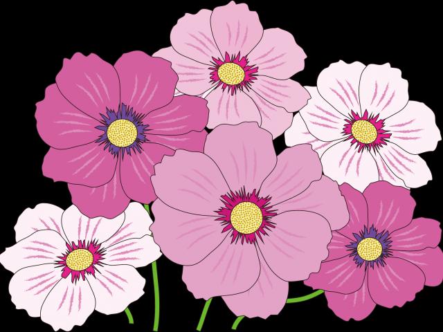 Pastel flower clipart transparent jpg royalty free download Pink Flower Clipart - Free Clipart on Dumielauxepices.net jpg royalty free download