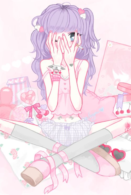 Pastel goth anime girl clipart jpg royalty free 17 Best images about pastel goth anime on Pinterest | Gothic art ... jpg royalty free