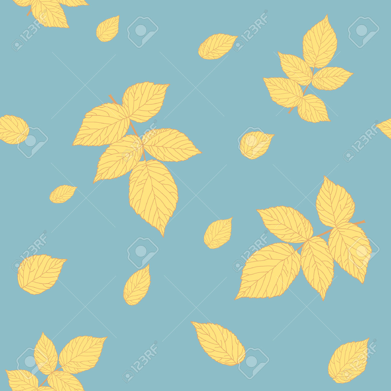 Pastel leaves background clipart graphic royalty free Seamless Pattern With Raspberry Leaves Clear Pastel Colors ... graphic royalty free