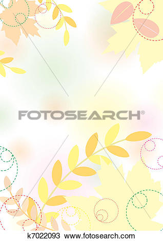 Pastel leaves background clipart svg transparent stock Clipart of Pastel autumn background with maple leaves, pastel ... svg transparent stock