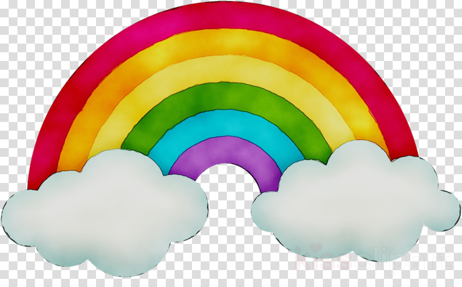 Pastel rain clouds clipart png black and white Rain Cloud Clipart clipart - Rainbow, Color, Illustration ... png black and white