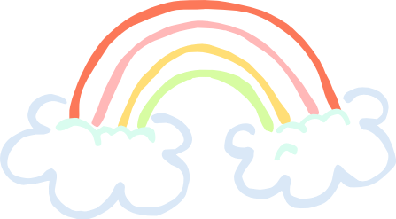 Pastel rainbow clipart vector library stock Rainbow Clip Art to Download - dbclipart.com vector library stock