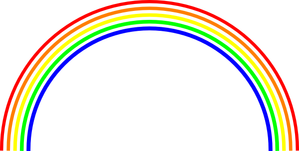 Pastel rainbow clipart clipart free stock Small rainbow clipart - ClipartFest clipart free stock