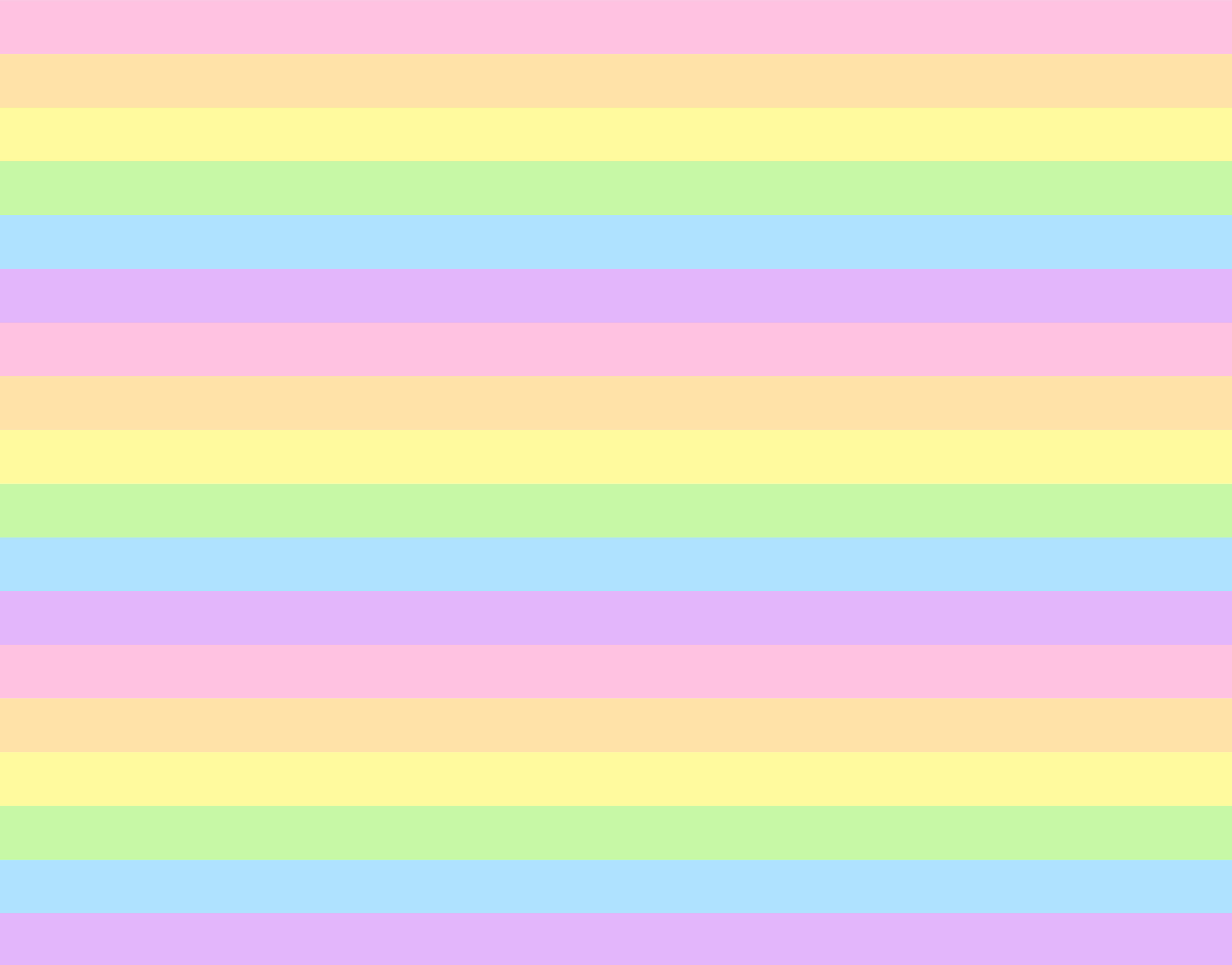 Pastel rainbow clipart vector library Cute Pastel Rainbow Striped Pattern - Free Clip Art vector library