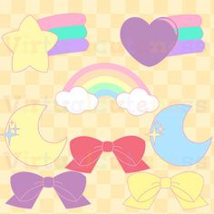 Pastel rainbow clipart png freeuse library Rainbow Clipart, Rainbow Bunting Banners   Rainbow bunting ... png freeuse library