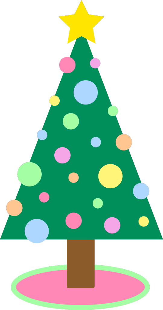 Religious christmas clipart images clipart library library Cartoon Xmas Tree Group (27+) clipart library library