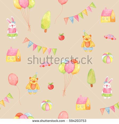 Pastel star clipart vector stock Happy Birthday Scrapbook Set Stock Vector 83029732 - Shutterstock vector stock