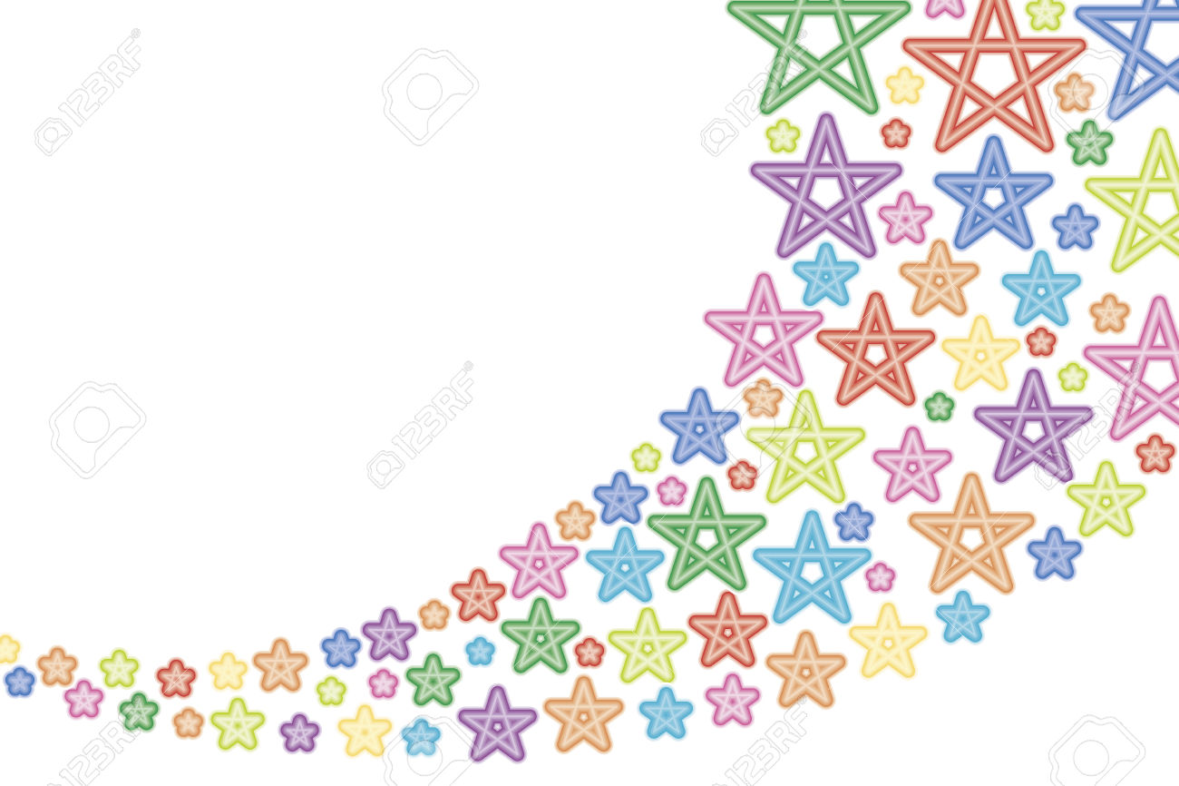 Pastel star clipart banner library library Background Material Wallpaper, Shooting Star, Star, Stars ... banner library library