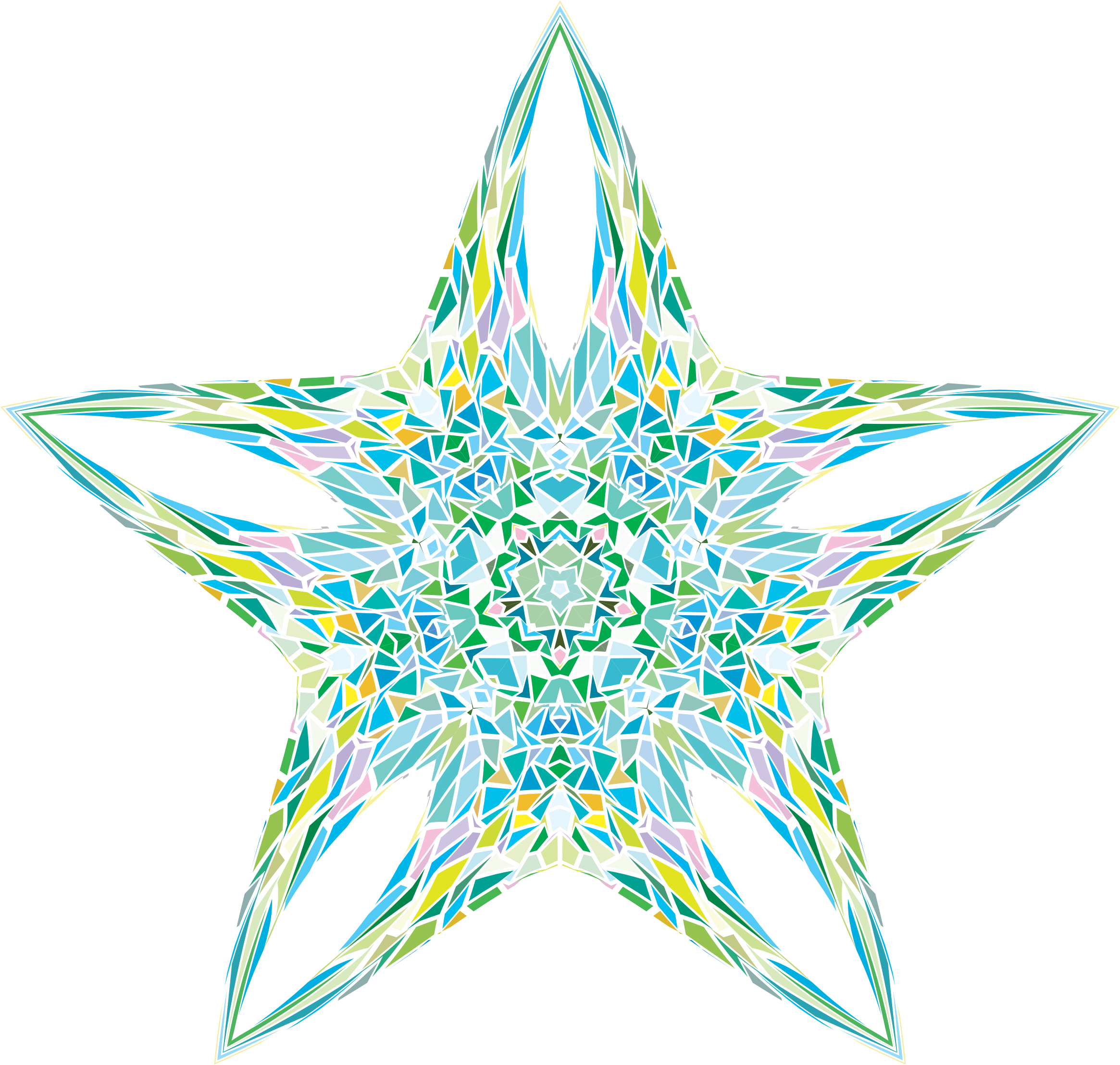 Pastel star clipart free stock Clipart - Pastel Star free stock