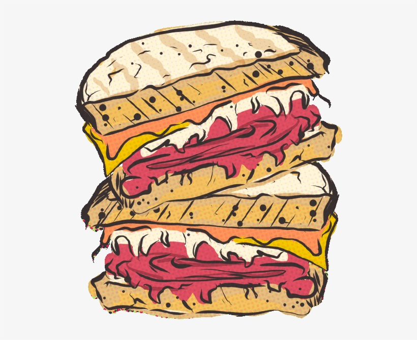 Pastrami clipart picture freeuse Our Sandwiches Are Famously Big & Delicious - Hot Pastrami ... picture freeuse