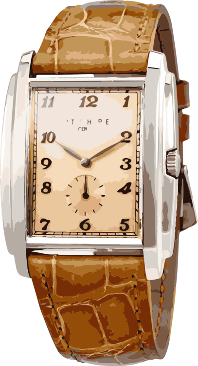Patek philippe clipart picture Watch Accessory,Brown,Metal Clipart - Royalty Free SVG ... picture