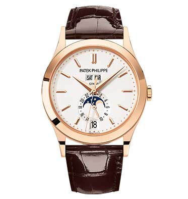 Patek philippe clipart svg Patek Philippe Calatrava Moonphase Annual Calendar 18k Rose Gold Men\'s Watch svg