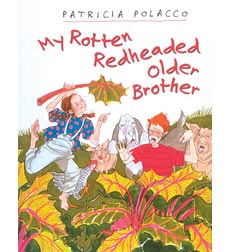 Patricia polacco melon head clipart banner library stock Rotten Richie: My Rotten Redheaded Older Brother by Patricia ... banner library stock
