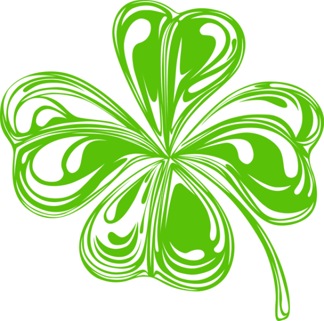 Patrick star clipart black and white clip free library St Patrick Shamrock Clipart Images 6 Saint Patrick clip free library