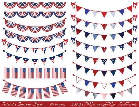 Patriotic bunting clipart png transparent Patriotic Bunting Clipart Clip Art, Fourth of July Flag ... png transparent