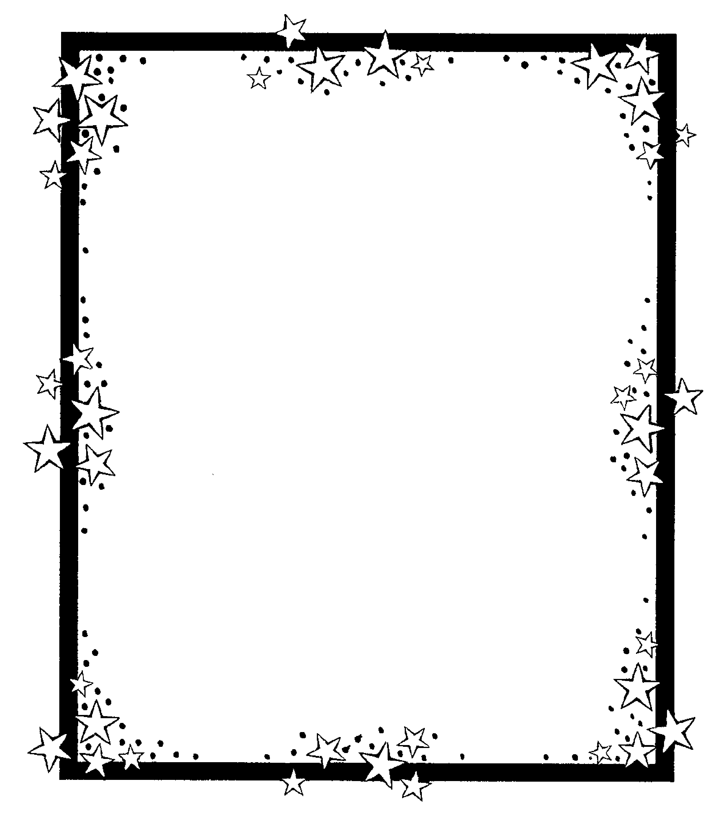 Patriotic star border clipart black and white picture free library Free Star Cliparts Borders, Download Free Clip Art, Free ... picture free library