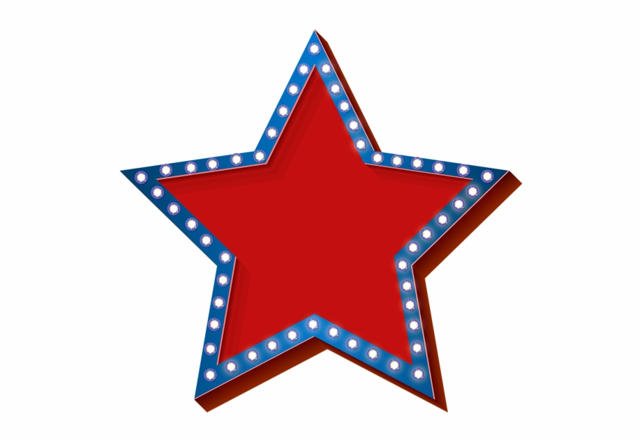 Patriotic star border clipart black and white graphic royalty free stock Patriotic Stars Png Transparent Background - Clipart 4th Of ... graphic royalty free stock