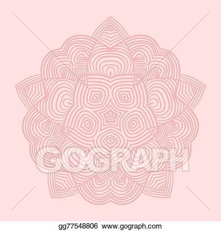 Pattern card clipart clip free stock Vector Art - Celtic knot pattern card, mandala, amulet. EPS ... clip free stock
