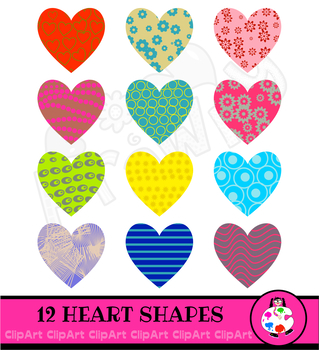 Patterned clipart banner freeuse library Patterned Love Heart Icon Clip Art banner freeuse library