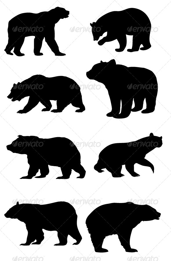 Patterns for clipart bear silhouette clipart library stock buck and doe clip art | Outlines - Reindeer - Doe - Buck - Digital ... clipart library stock