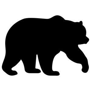 Patterns for clipart bear silhouette image freeuse stock 17 Best ideas about Bear Silhouette on Pinterest | Animal ... image freeuse stock