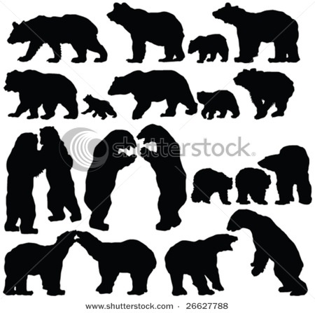 Patterns for clipart bear silhouette image black and white download 1000+ images about pattern ideas on Pinterest | Applique designs ... image black and white download