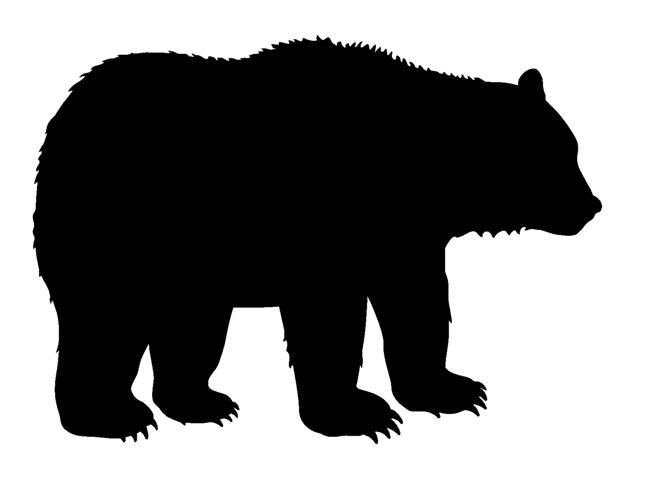Patterns for clipart bear silhouette png free stock 17 Best ideas about Bear Silhouette on Pinterest | Animal ... png free stock