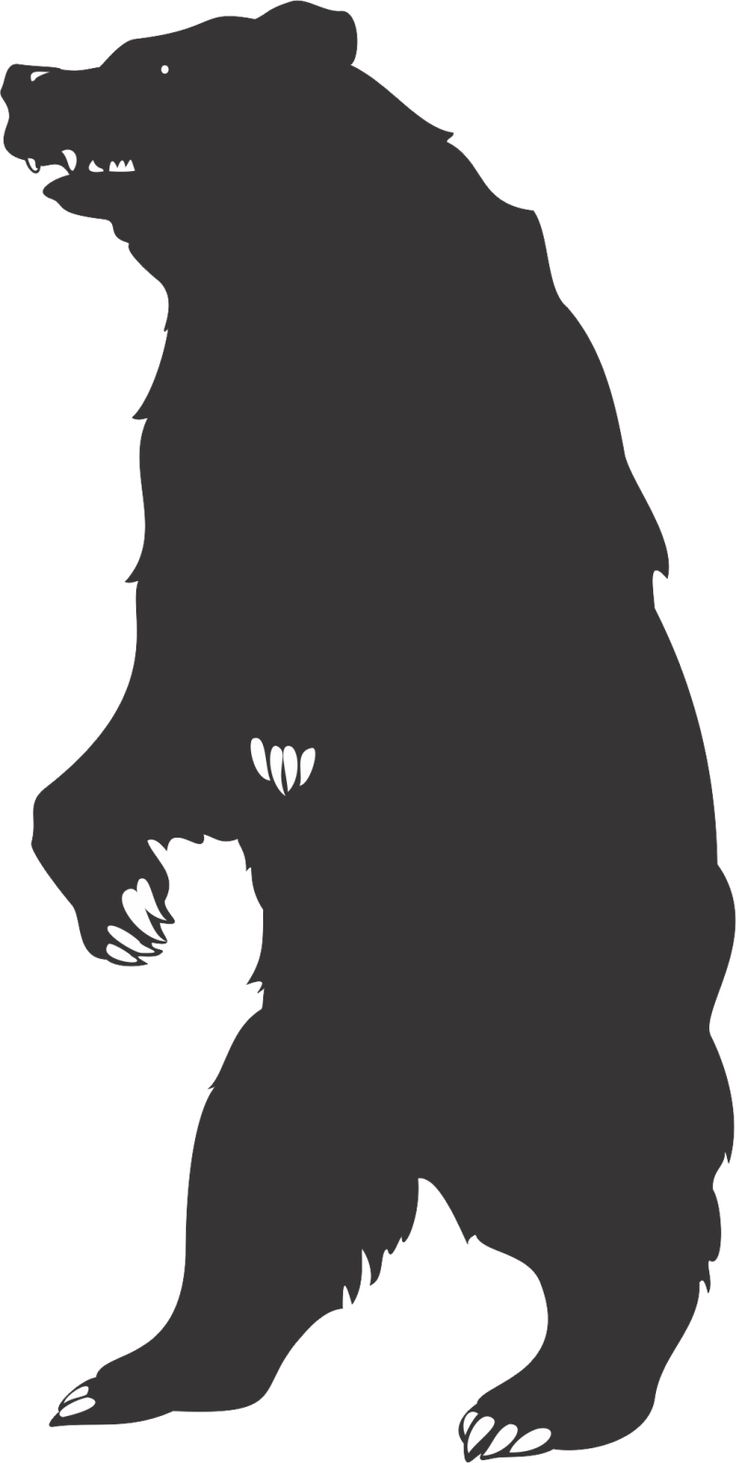 Patterns for clipart bear silhouette graphic library 17 Best ideas about Bear Silhouette on Pinterest | Animal ... graphic library
