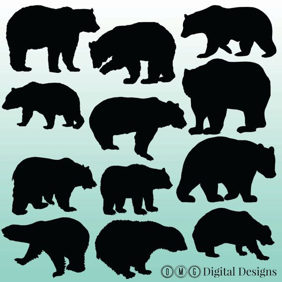 Patterns for clipart bear silhouette clip black and white download 17 Best ideas about Bear Silhouette on Pinterest | Animal ... clip black and white download
