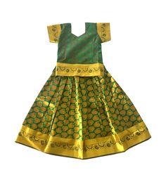 Pattupavadai clipart svg royalty free download 80 Best Pattu Pavadai images in 2019   Kids wear, Party wear ... svg royalty free download