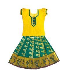 Pattupavadai clipart clipart transparent 80 Best Pattu Pavadai images in 2019   Kids wear, Party wear ... clipart transparent