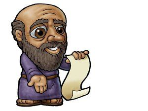 Paul apostle clipart picture black and white stock Apostle Paul. Can be used to represent almost any male Bible ... picture black and white stock
