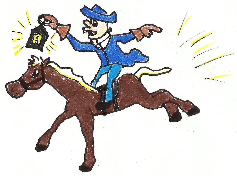 Paul revere clipart freeuse stock Paul Revere Midnight Ride Clipart | Cartoons | Paul revere ... freeuse stock
