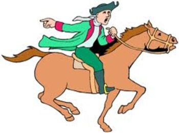 Paul revere clipart clipart royalty free stock PAUL REVERE ART AND CLIP ART COLLECTION clipart royalty free stock