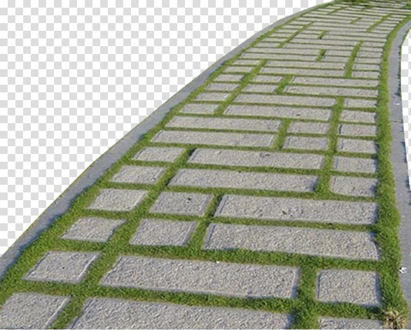 Pavement clipart graphic black and white download Gray concrete path , Stone Pavement Soil, Stone floor ... graphic black and white download