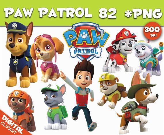 Paw patrol background clipart jpg paw patrol clipart 82 PNG 300dpi Images Digital Clip Art jpg