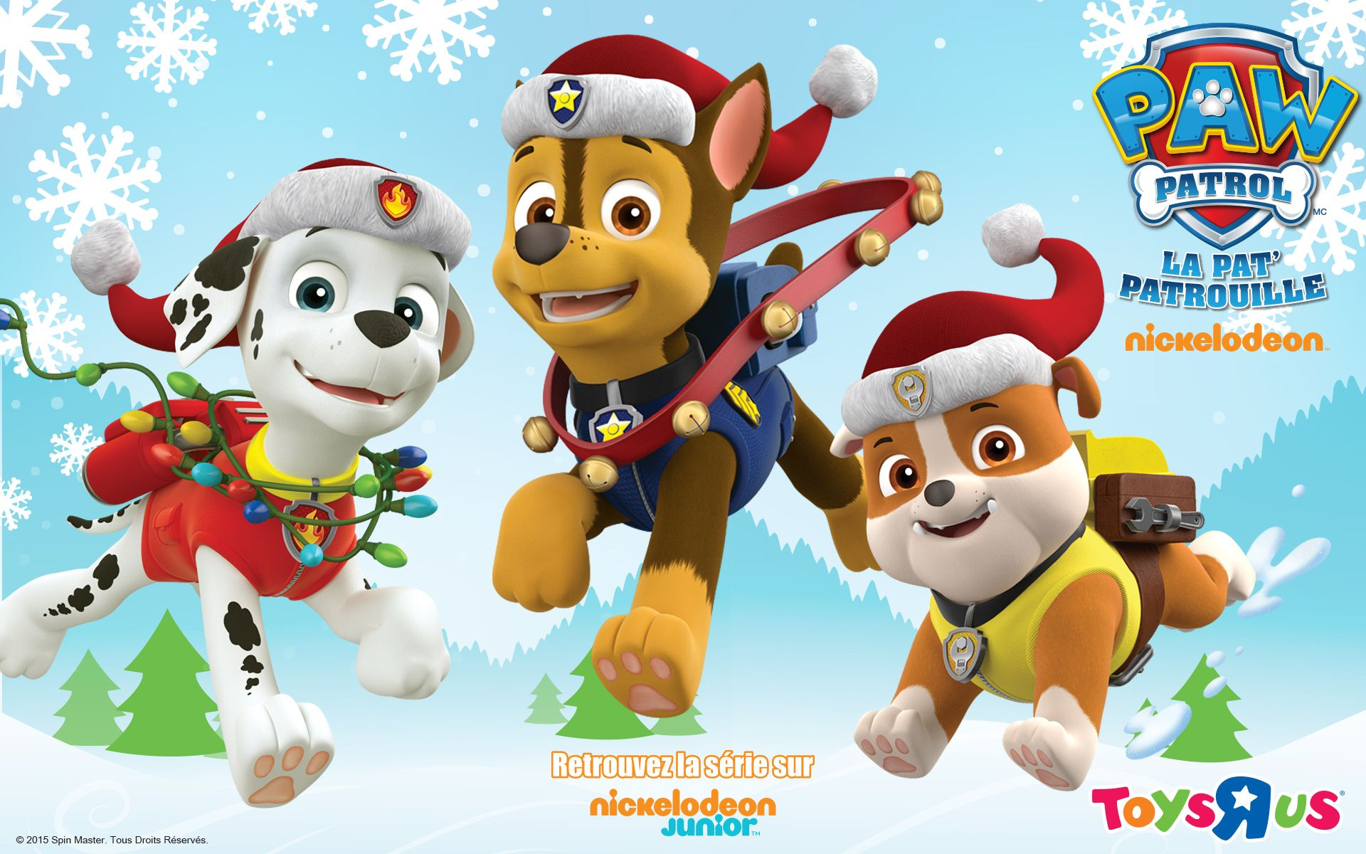 Paw patrol background clipart picture black and white library Wallpaper's Collection: «Paw Patrol Wallpapers» picture black and white library