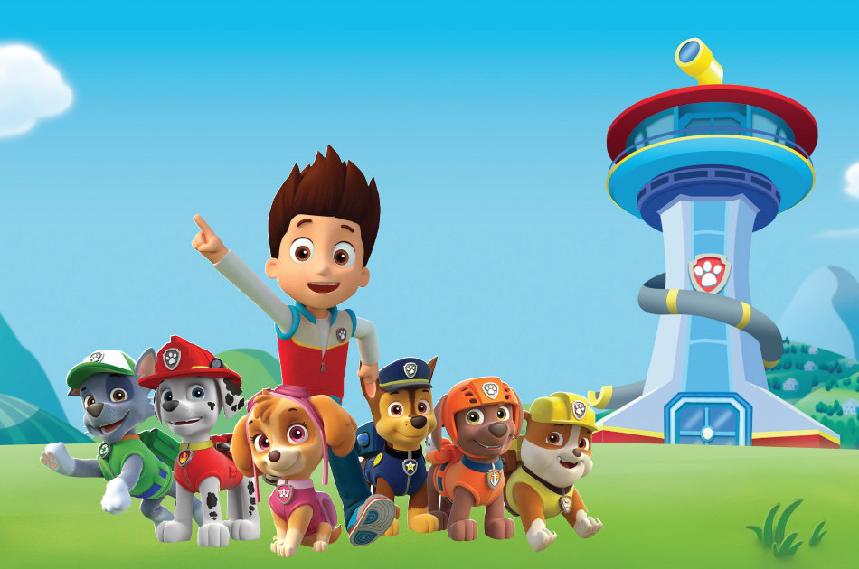 Paw patrol background clipart image black and white Paw Patrol Birthday Background Related Keywords & Suggestions ... image black and white