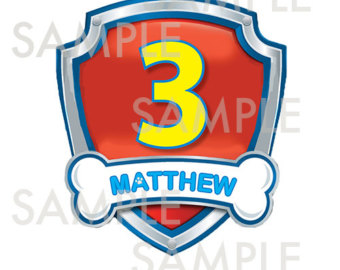 Paw patrol badge clip art transparent library Paw patrol birthday clipart - ClipartFest transparent library