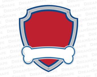 Paw patrol badge clip art png royalty free library Paw patrol svg – Etsy png royalty free library