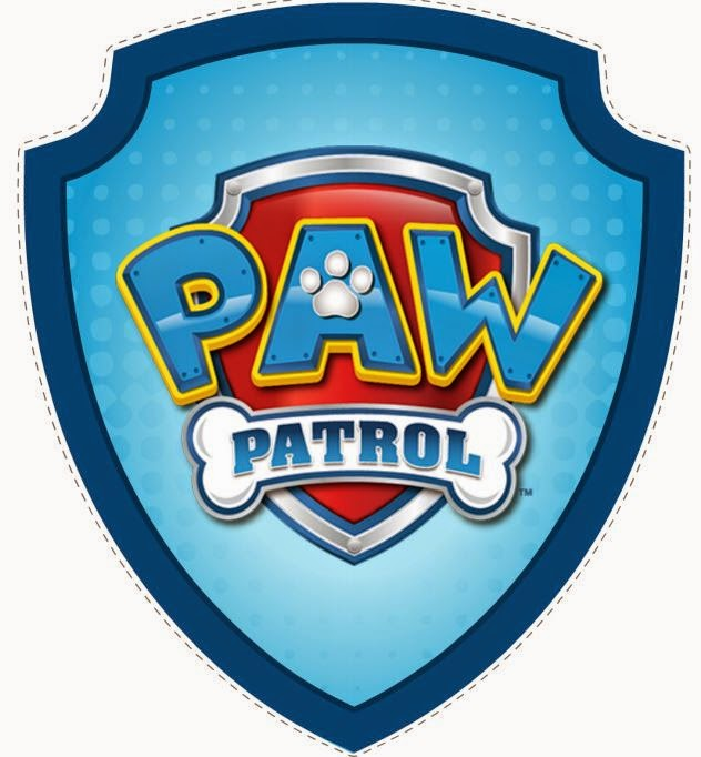 Paw patrol badge clip art picture library library Paw patrol badge clipart - ClipartFest picture library library