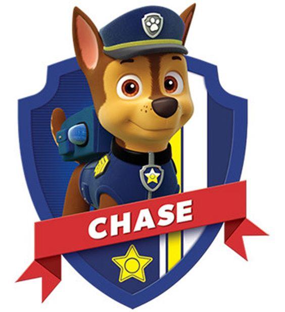 Paw patrol badge clip art clip art Chase head paw patrol clipart - ClipartFest clip art