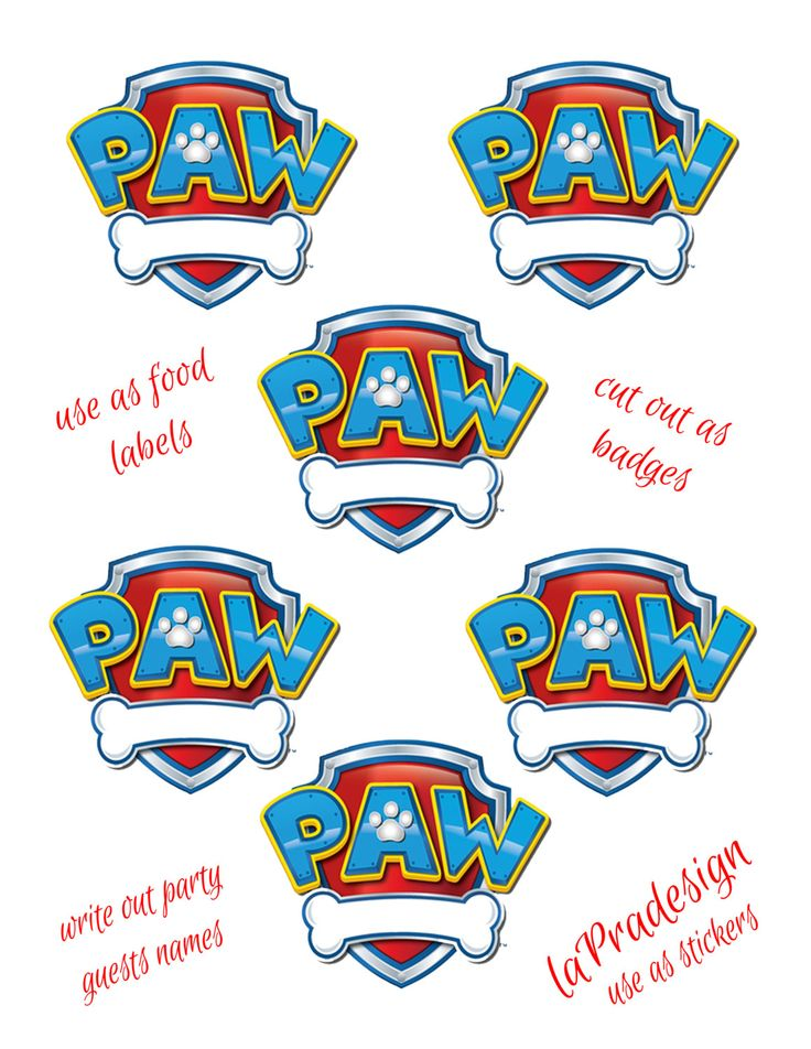 Paw patrol badges clipart clip art black and white stock 17 Best ideas about Paw Patrol Badge on Pinterest | Paw patrol ... clip art black and white stock