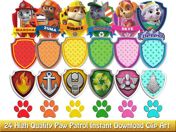 Paw patrol badges clipart jpg transparent library 17 Best ideas about Paw Patrol Badge on Pinterest | Paw patrol ... jpg transparent library