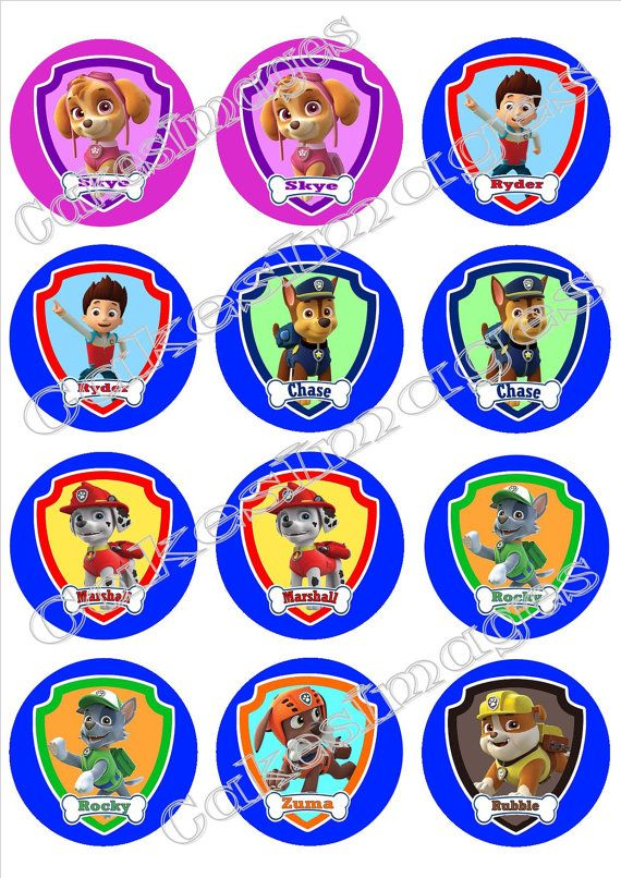 Paw patrol badges clipart banner transparent download 17 Best images about paw patrol bday on Pinterest | Paw patrol ... banner transparent download