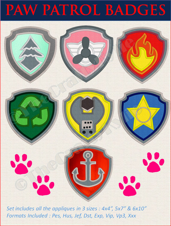 Paw patrol badges clipart vector download 1000+ images about paw patrol on Pinterest | Party printables ... vector download